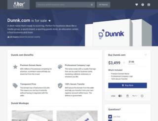 dunnk.com screenshot