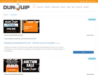 dunquip.com screenshot