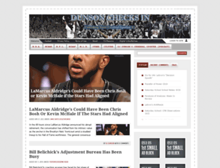 dunsonchecksin.com screenshot