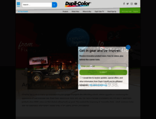 duplicolor.com screenshot