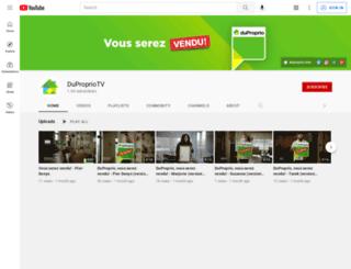 duproprio.tv screenshot