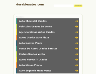 durableautos.com screenshot