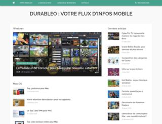 durableo.fr screenshot