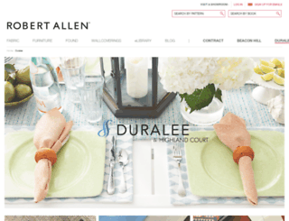 duralee.com screenshot