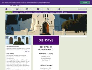 durbanvillegemeente.co.za screenshot