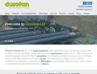 durotan.ltd.uk screenshot