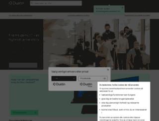 dustin.dk screenshot