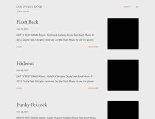 dustyfeetband.blogspot.gr screenshot