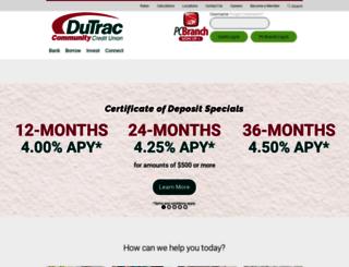 dutrac.org screenshot