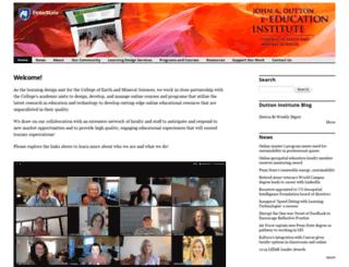 dutton.psu.edu screenshot
