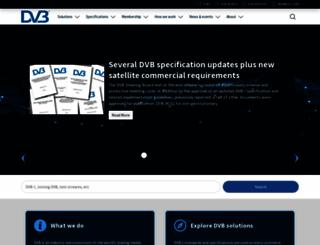 dvb.org screenshot