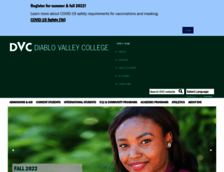 dvc.edu screenshot