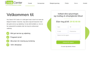dvcenter.dk screenshot