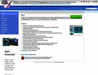 dvdstyler.de screenshot