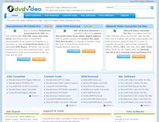dvdvideosoftware.org screenshot