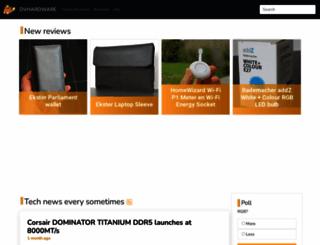 dvhardware.net screenshot