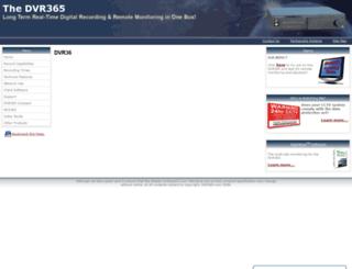 dvr365.com screenshot