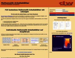 dw-aufgaben.de screenshot