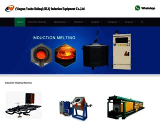 dw-inductionheating.com screenshot
