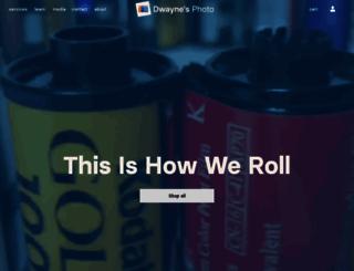 dwaynesphoto.com screenshot