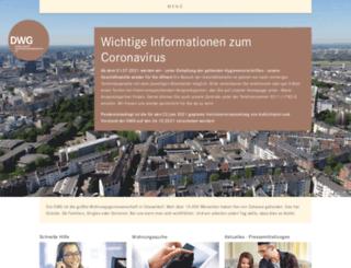 dwg-online.de screenshot