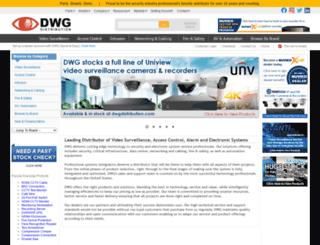 dwgdistribution.com screenshot