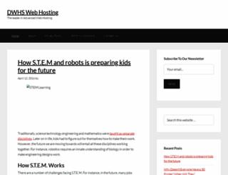 dwhswebhosting.com screenshot