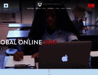 dwight.edu screenshot
