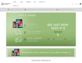 dyalrental.com screenshot