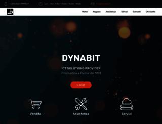 dynabit.it screenshot