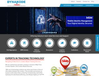 dynakode.com screenshot