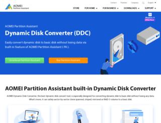 dynamic-disk.com screenshot