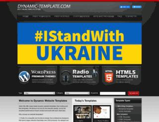 dynamic-template.com screenshot