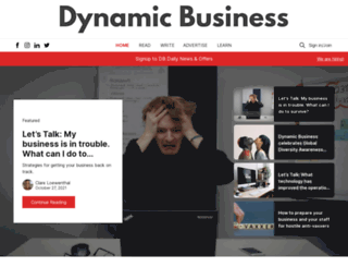 dynamicbusiness.com.au screenshot