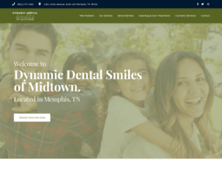 dynamicdentalsmilesofmidtown.com screenshot