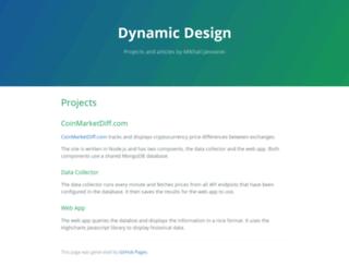 dynamicdesign.co.za screenshot