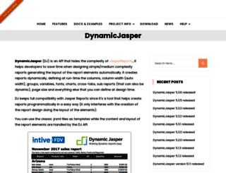 dynamicjasper.com screenshot
