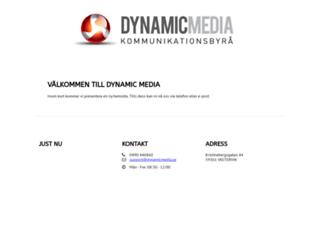 dynamicmedia.se screenshot