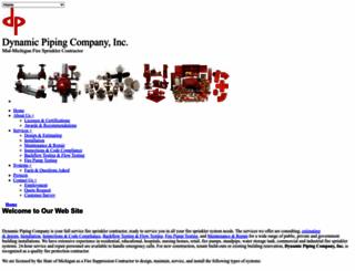 dynamicpiping.com screenshot