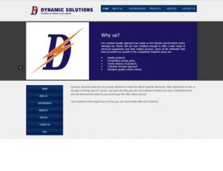 dynamicsolutionsbd.com screenshot