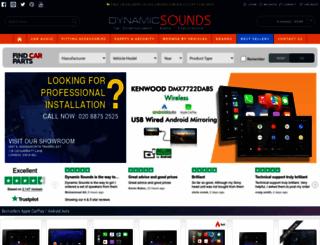 dynamicsounds.co.uk screenshot