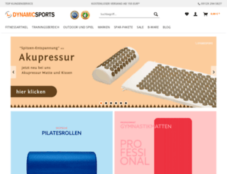 dynamicsports.de screenshot