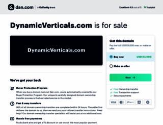dynamicverticals.com screenshot