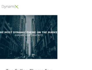 dynamix.themeva.com screenshot