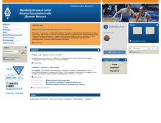 dynamobasket.com screenshot