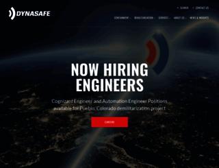 dynasafe.com screenshot