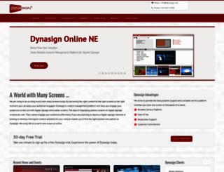 dynasign.net screenshot