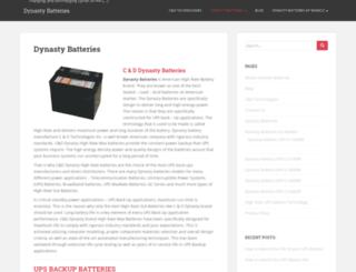 dynastybatteries.com screenshot