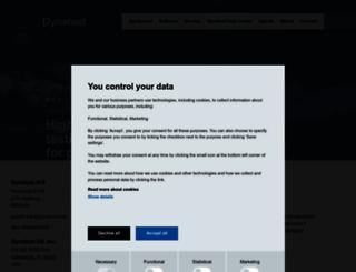 dynatest.com screenshot