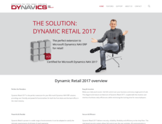 dynavics.com screenshot